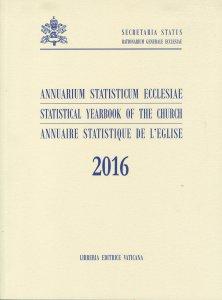 Copertina di 'Annuarium Statisticum Ecclesiae (2016)'