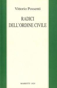 Copertina di 'Radici dell'ordine civile'