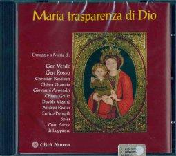 Copertina di 'Maria trasparenza di Dio'