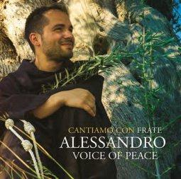 Copertina di 'Cantiamo con frate Alessandro Voice of Peace - Voce di Pace'
