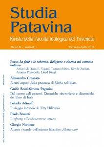 Studia Patavina 2014/1