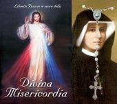 Libretto Rosario della Divina Misericordia con coroncina