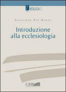 Copertina di 'Introduzione alla ecclesiologia'