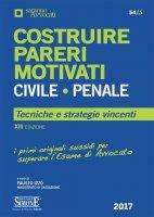 Costruire Pareri Motivati Civile e Penale - Fabio Izzo