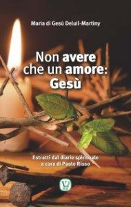 Copertina di 'Non avere che un amore: Gesù. Estratti dal diario spirituale a cura di Paolo Risso'