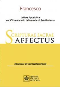 Copertina di 'Scripturae Sacrae Affectus. Lettera Apostolica nel XVI centenario della morte di San Girolamo.'