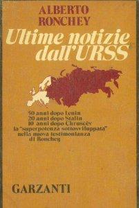 Copertina di 'Ultime notizie dall'URSS'
