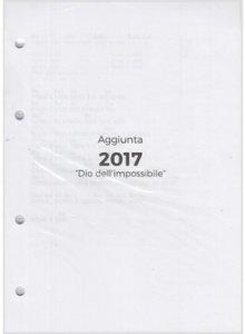 Copertina di 'Dio dell'impossibile - Aggiunta libro canti 2017'