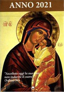 Copertina di 'Calendario liturgico dell'ascolto 2021. Maria Madre di Misericordia'