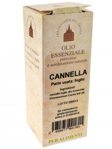 Copertina di 'Olio essenziale cannella 12 ml.'
