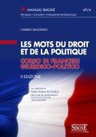 Les mots du droit et de la politique - Corso di francese giuridico-politico - Carmen Saggiomo