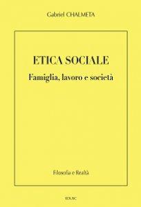 Copertina di 'Etica sociale'