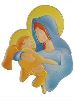 Calamita con Maria e Gesù di  su LibreriadelSanto.it