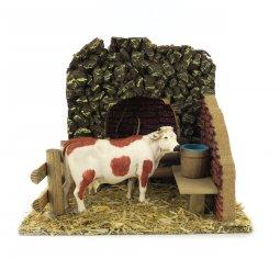Copertina di 'Mucca Nella Stalla ? Bertoni presepe linea Natale'