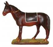 Statuine presepe: Cavallo linea Martino Landi per presepe da cm 10