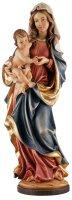 """Statua in legno dipinta a mano """"Madonna dei monti"""" - altezza 23 cm"""