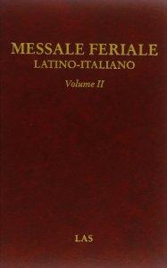 Copertina di 'Messale feriale latino-italiano vol.2'