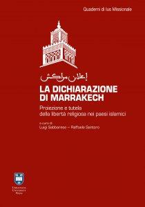 Copertina di 'La dichiarazione di Marrakech'