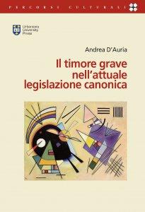 Copertina di 'Il timore grave nell'attuale legislazione canonica'