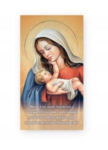 """Copertina di 'Benedizione della Famiglia """"Madonna col Bambino"""" - altezza 22 cm (10 pezzi)'"""