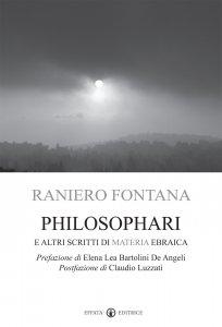Copertina di 'Philosophari e altri scritti di materia ebraica'