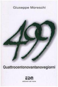 Copertina di 'Quattrocentonovantanove giorni'