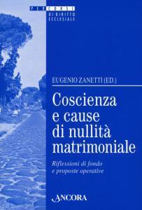 Copertina di 'La coscienza nelle cause di nullità matrimoniale'
