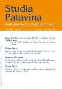 Copertina di 'Studia Patavina 2020/3'
