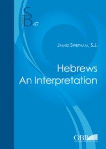Copertina di 'Hebrews. An interpretation'