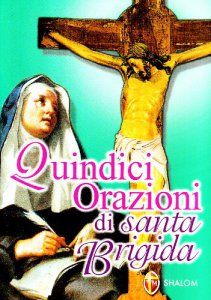 Copertina di 'Quindici orazioni di santa Brigida'