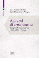 Appunti di ermeneutica - Luis Alonso Schökel, José María Bravo Aragón