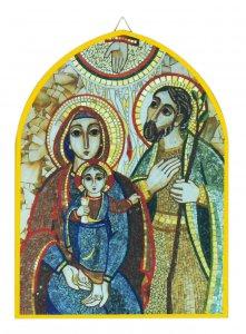 Copertina di 'Quadro cuspide cm 25 x 34 - Sacra Famiglia di Padre Rupnik'
