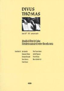 Copertina di 'Divus Thomas (2017)'