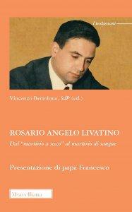 Copertina di 'Rosario Angelo Livatino'