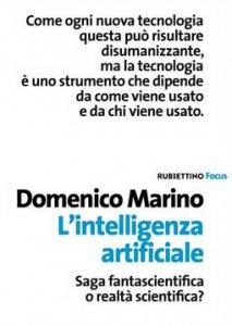 Copertina di 'L'intelligenza artificiale'
