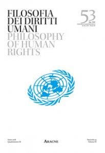 Copertina di 'Filosofia dei diritti umani-Philosophy of Human Rights'