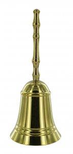 Copertina di 'Campanello classico in ottone - 14x6 cm'
