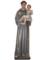 """Statua  in legno colorato """"Sant'Antonio di Padova"""" - altezza 120 cm"""
