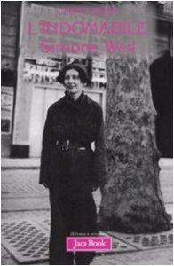 Copertina di 'L'indomabile Simone Weil'
