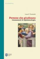 Persone che giudicano - Luca Tuninetti