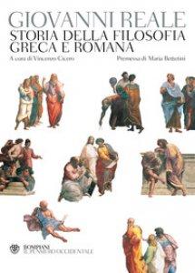 Copertina di 'Storia della filosofia greca e romana'