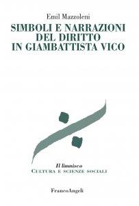 Copertina di 'Simboli e narrazioni del diritto in Giambattista Vico'