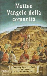 Copertina di 'Matteo vangelo della comunità'