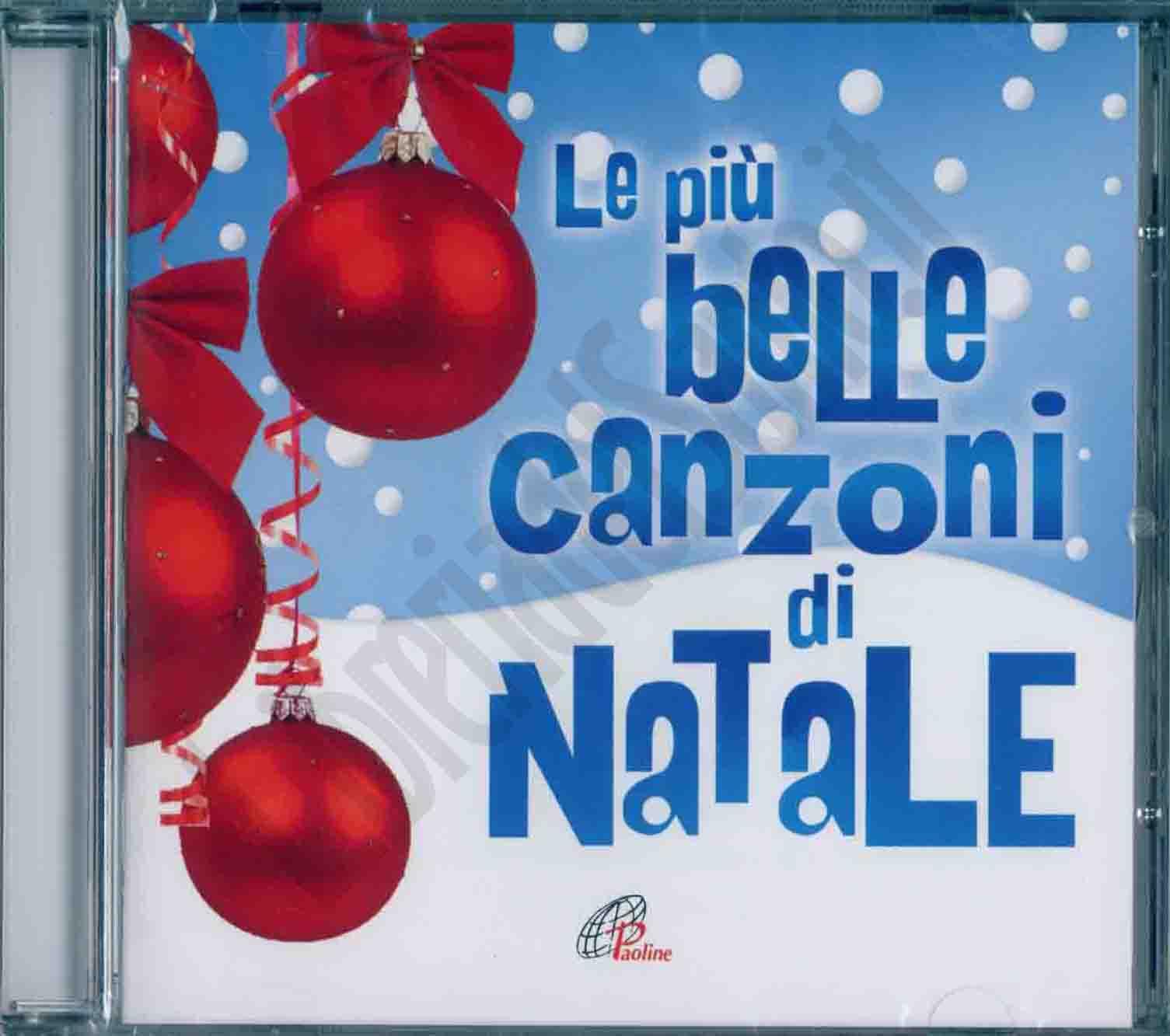 Le Piu Belle Canzoni Di Natale.Le Piu Belle Canzoni Di Natale Cd Musica Natalizia Libreriadelsanto It