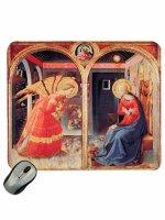"""Mousepad """"Annunciazione di S. Maria delle Grazie"""" - Beato Angelico"""