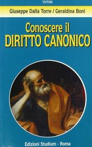 Copertina di 'Conoscere il diritto canonico'