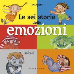 Copertina di 'Le sei storie delle emozioni'
