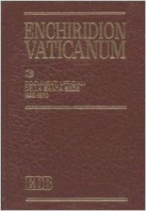 Copertina di 'Enchiridion Vaticanum. 3'