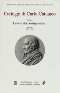 Copertina di 'Carteggi di Carlo Cattaneo'