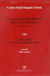Copertina di 'Il sangue di Cristo nella teologia'